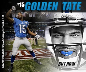 Golden Tate Mouth Guard